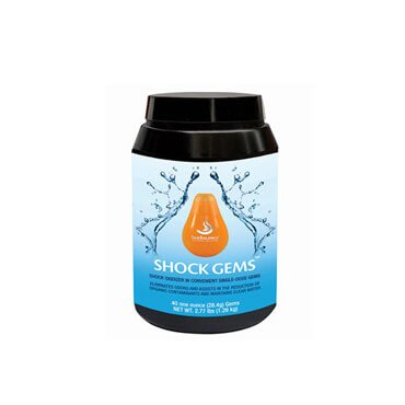 <p>Shock Gems by SilkBalance are tiny one-ounce pods formulated to work in conjunction with the SilkBalance water care and your preferred sanitizer. We've taken the hassle out of keeping your spa clean with our pre-measured non-chlorine shock.</p>